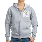 Wrong Planet Alien Women's Zip Hoodie