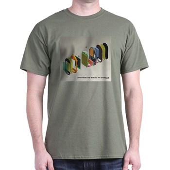 OpenMoko schematics t-shirt from CafePress