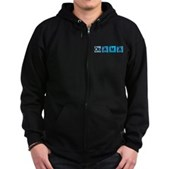 Obama Elements Zip Hoodie (dark)