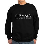 Logical Obama Sweatshirt (dark)