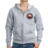 Obama-Biden Eagle Women's Zip Hoodie