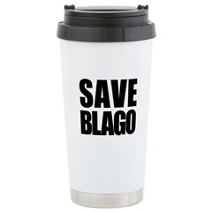 Save Illinois Governor Blagojevich, he's innocent! Ceramic Travel Mug