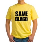 Save Illinois Governor Blagojevich, he's innocent! Yellow T-Shirt