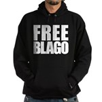 Free Illinois Governor Blagojevich, he's innocent! Hoodie (dark)