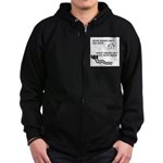 Great Friends Move Bodies Zip Hoodie (dark)