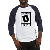 Rated D: Diver Baseball Jersey