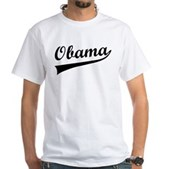 Obama Swish White T-Shirt