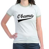 Obama Swish Jr. Ringer T-Shirt