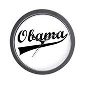 Obama Swish Wall Clock