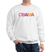 Obama Flowers Sweatshirt