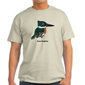Green Kingfisher Light T-Shirt