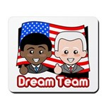 Kawaii Obama-Biden Dream Team Mousepad