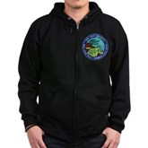 Take Only Memories (turtle) Zip Hoodie (dark)