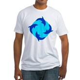 Dolphin Ring Fitted T-Shirt