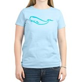 Stylized Sperm Whale Women's Light T-Shirt