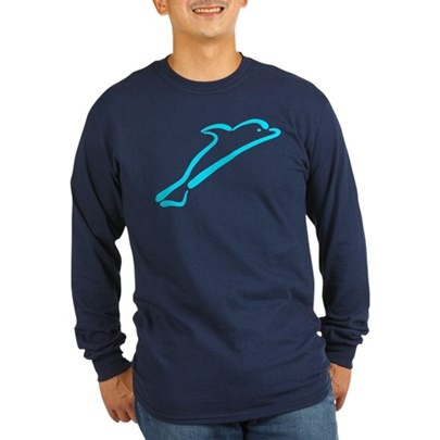 Stylized Dolphin T-Shirt