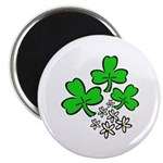 "Irish Shamrocks 2.25"" Magnet (100 pack)"