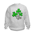 Irish Shamrocks Kids Sweatshirt