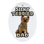 Silky Terrier Ornament for Dad