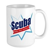 Scuba Take Me Away Large Mug