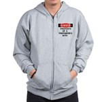 Firefighter's Wife Zip Hoodie