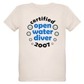 Open Water Diver 2007 Organic Kids T-Shirt