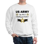 US Army Mom Freedom Sweatshirt