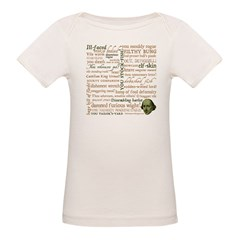 Shakespeare Insults T-shirts & Gifts Organic Baby T-Shirt