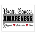 Brain Cancer Awareness Small Poster