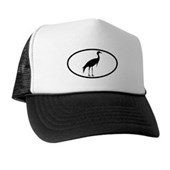  Crane Oval Trucker Hat