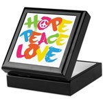 Hope Peace Love Keepsake Box