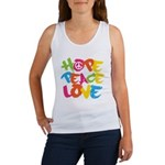 Hope Peace Love Women's Tank Top