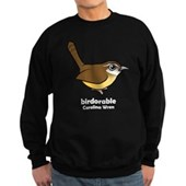 Birdorable Carolina Wren Sweatshirt (dark)