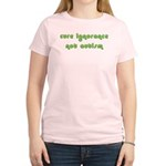 Cure Ignorance (Green) Women's Light T-Shirt