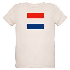 NL Dutch Flag Organic Kids T-Shirt