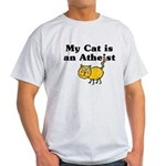My Cat Is An Atheist Light T-Shirt