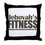 Jehovah's Fitness Throw Pillow