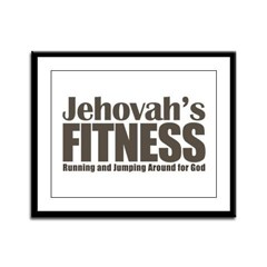 Jehovah's Fitness Framed Panel Print