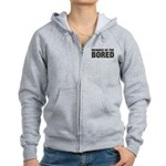 Member of the Bored Women's Zip Hoodie