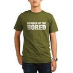 Member of the Bored Organic Men's T-Shirt (dark)