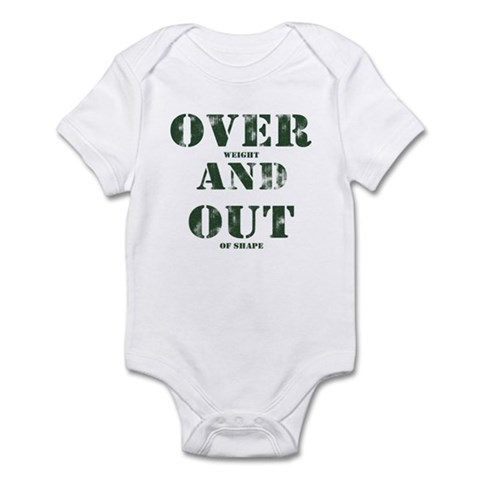 Over & Out Infant Bodysuit