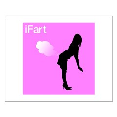 iFart Funny Spoof Small Poster