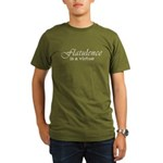 Flatulence Is A Virtue Organic Men's T-Shirt (dark)