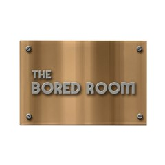 The Bored Room Rectangle Magnet