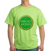 Certified Nitrox Diver Green T-Shirt