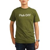  Pish Off Organic Men's T-Shirt (dark)
