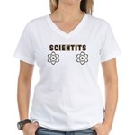 Scientits Women's V-Neck T-Shirt