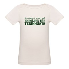 Embolden the Terrorists Organic Baby T-Shirt