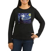 Starry Dove Women's Long Sleeve Dark T-Shirt