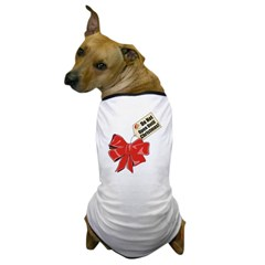 Do Not Open Until Christmas Dog T-Shirt